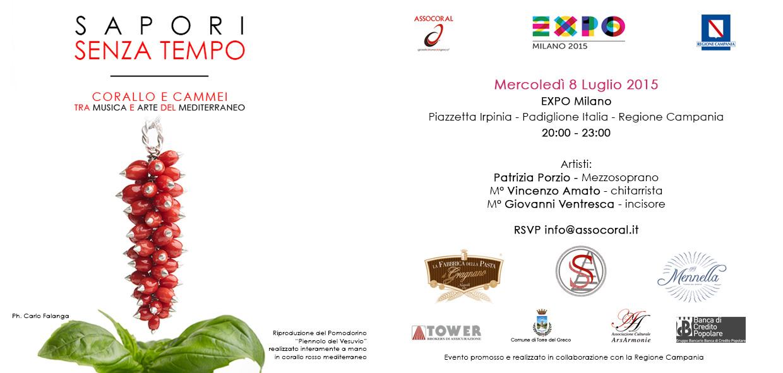 SAPORI SENZA TEMPO a EXPO Milano – 8 Luglio 2015